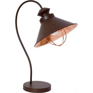 Lampa stołowa LOOFT 1 chocolate