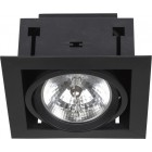 Lampa podtynkowa LIGHT 1 black