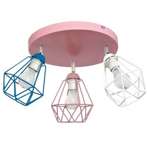 Lampa sufitowa DIAMOND COLOR 3 koło