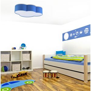 Lampa sufitowa CLOUD 4 BLUE